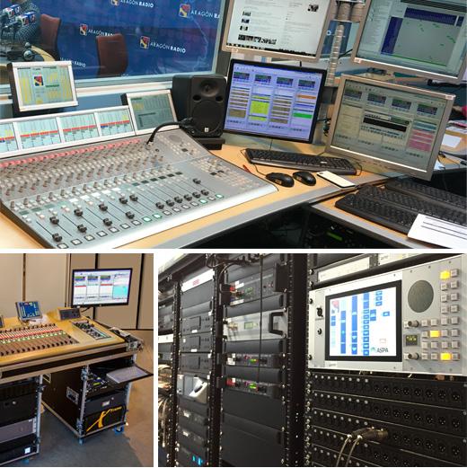 Proyecto llave en mano para Aragón Radio