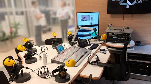 Control Locutorio Radio Aranda Cadena Ser