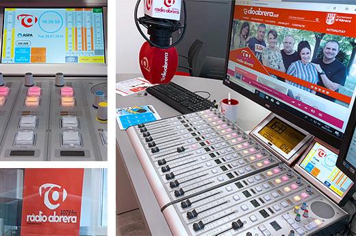 Radio Abrera - Consola de audio 52SX DHD