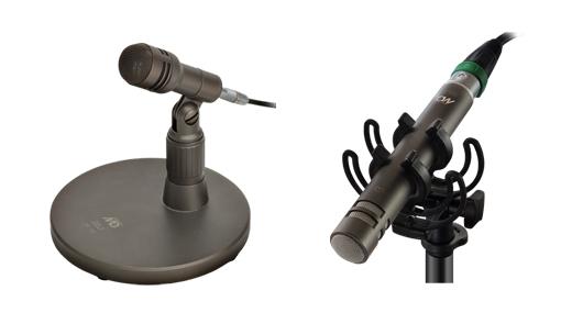 Micrófonos M300 y TM190