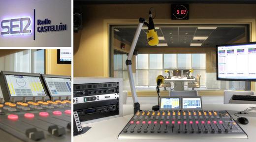 Control locutorio Radio Castellón Cadena Ser