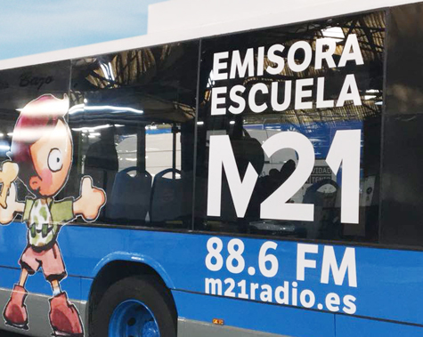 Emisora M21 del Ayuntamiento de Madrid