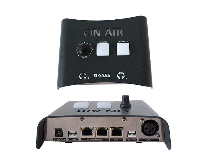 Axel Oxygen 3000Dfejhallgató-mikrofon-utasító doboz