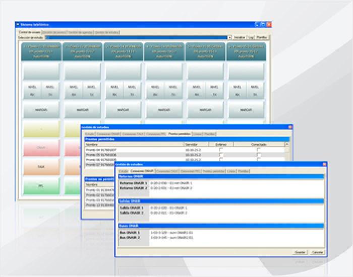 Software de control Marca XFRAME