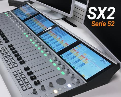 Consola 52 SX2 para radio