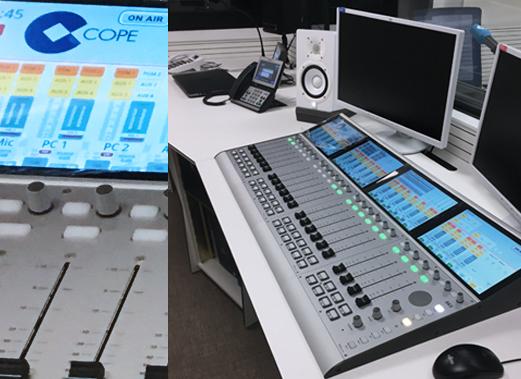 Instalación de Consola 52 SX2 en la Cadena COPE