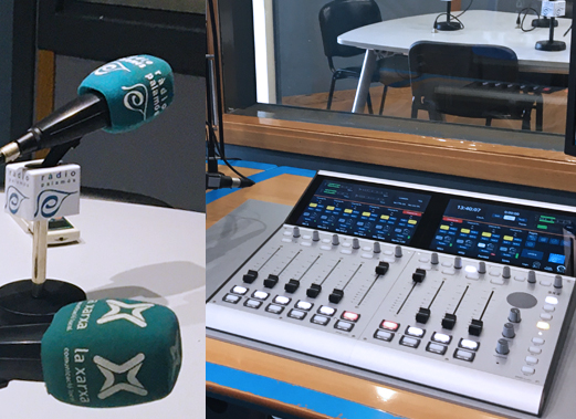 Instalación de Consola 52 SX2 en Palamós Radio