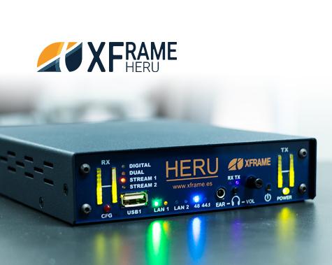 HERU audio codec IP Bidireccional