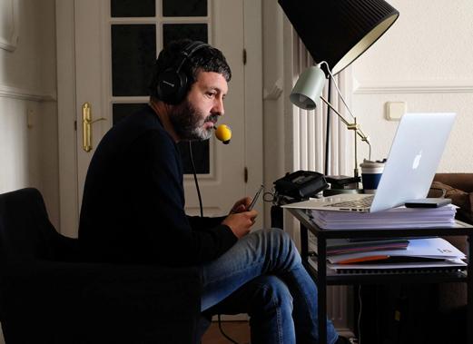 Pedro Blanco periodista de la Cadena SER