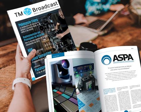 Entrevista ASPA en TMBroadcast