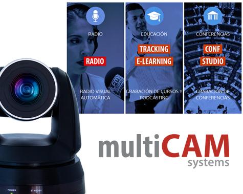 MultiCAM soluciones remotas y automáticas de video