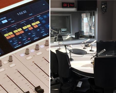 Consola digital 52 SX2 Estudios de Radio