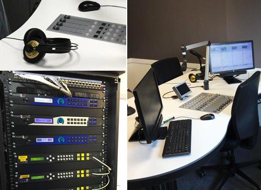 Estudio Onda Cero Valencia con equipamiento Prodys, XFrame Radio y Consola digital DHD