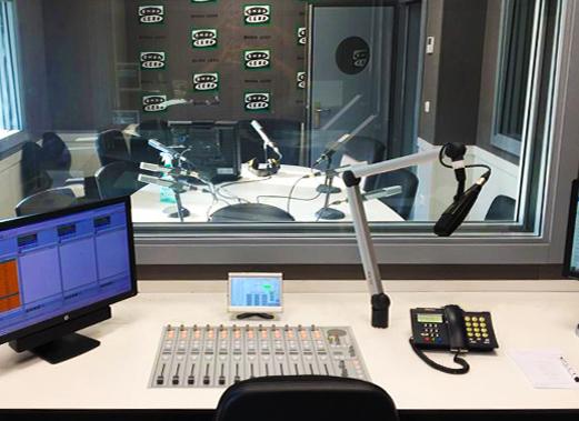 Estudio Onda Cero Valencia con XFrame Radio y Consola digital DHD