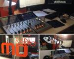 Consola digital SX2 emisora de radio MasterD