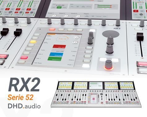 Consolas digitales RX2 de DHD