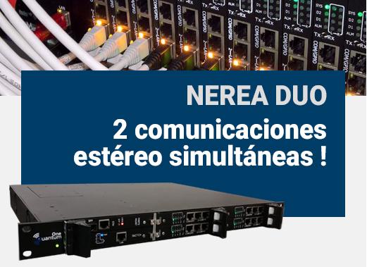 Nerea Duo 2 comunicaciones estéreo simultáneas
