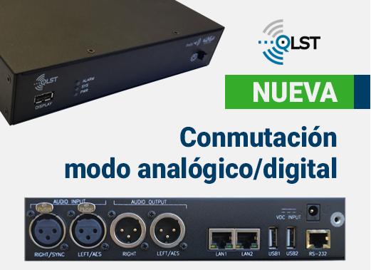 Novedad Quantum Lite ST Conmutación modo analógico/digital
