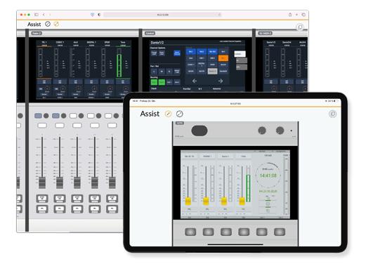 Assist App control remoto de consolas DHD